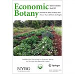 Picture 0 for Economic Botany March 2021 Issue Now Available